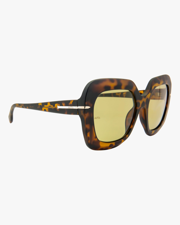 MITA Mare Havana Oversized Sunglasses 2
