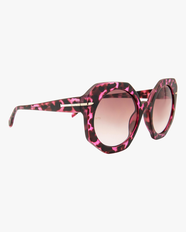 MITA Sole Pink Oversized Sunglasses 2