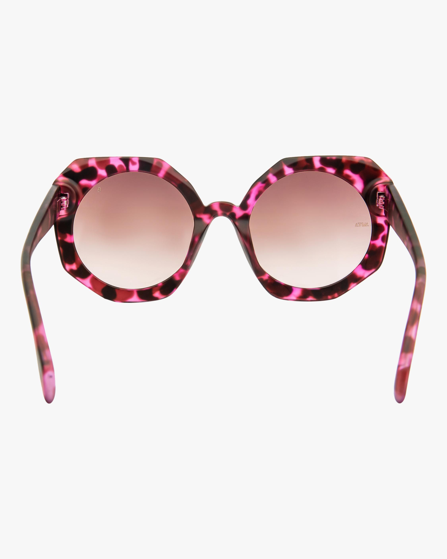 MITA Sole Pink Oversized Sunglasses 3