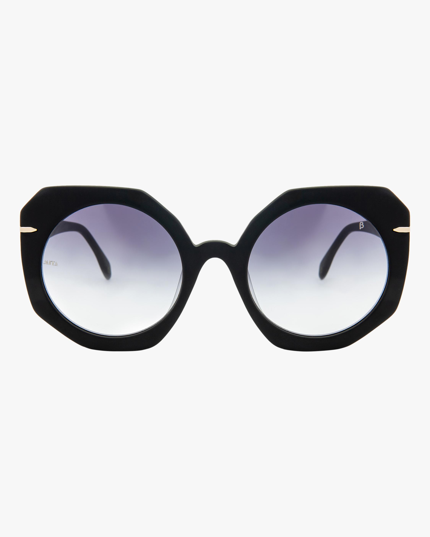 MITA Sole Black Oversized Sunglasses 0