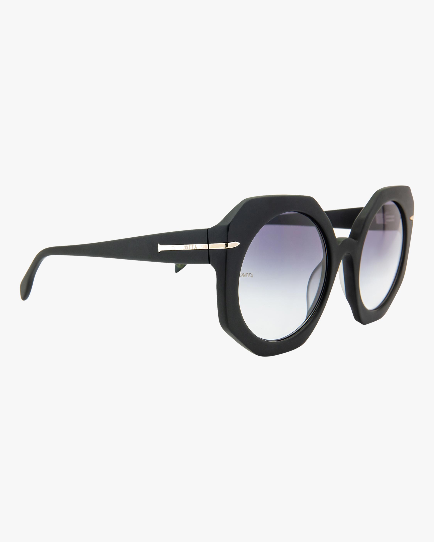 MITA Sole Black Oversized Sunglasses 1
