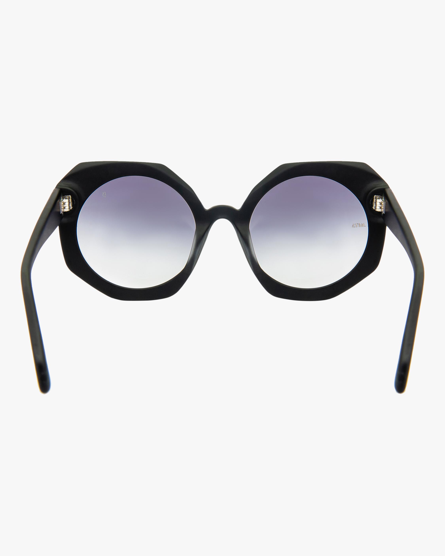 MITA Sole Black Oversized Sunglasses 3
