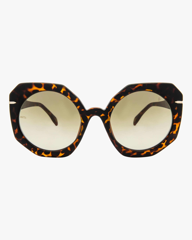 MITA Sole Havana Oversized Sunglasses 0