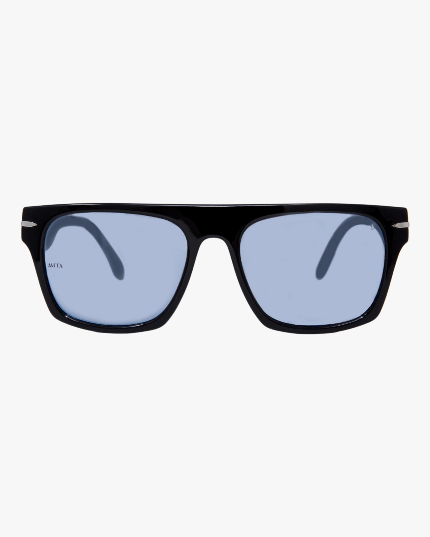 MITA Nile Black Rectangle Sunglasses 1