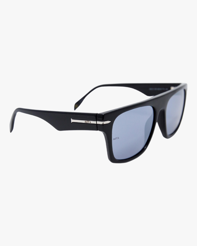 MITA Nile Black Rectangle Sunglasses 2