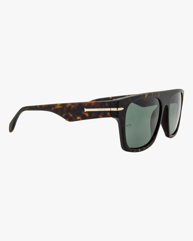 MITA Nile Havana Rectangle Sunglasses 1