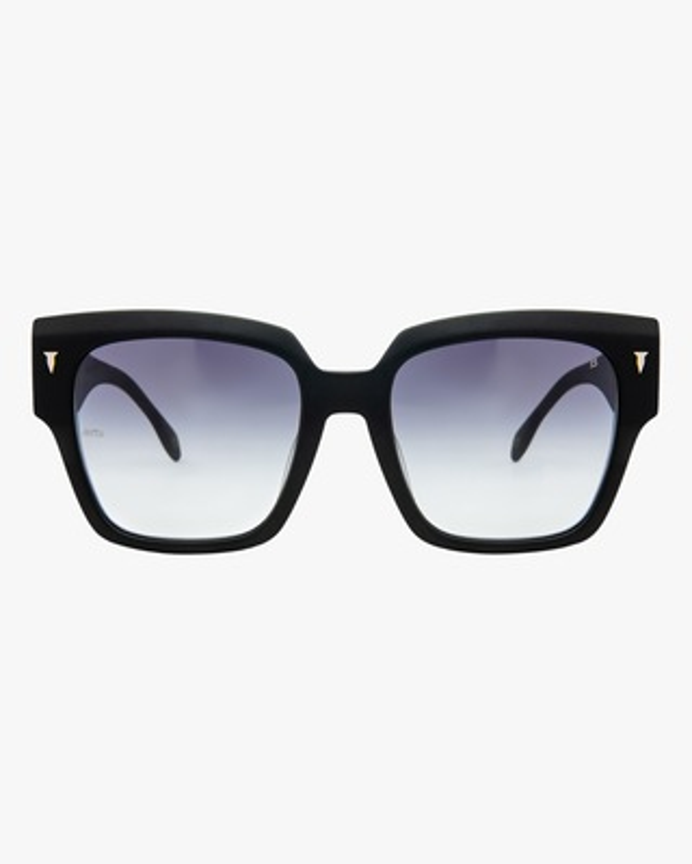 MITA Capri Black Oversized Sunglasses 1