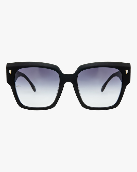 MITA Capri Black Oversized Sunglasses 0