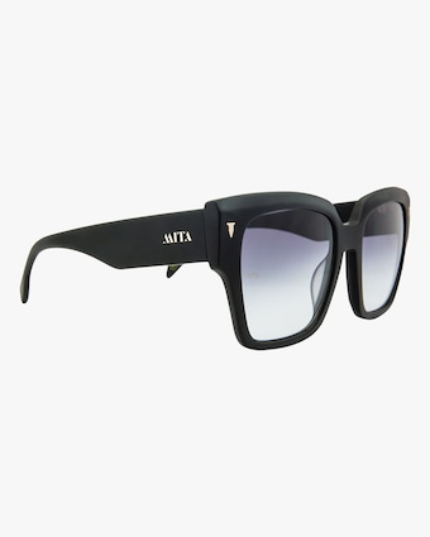 MITA Capri Black Oversized Sunglasses 2