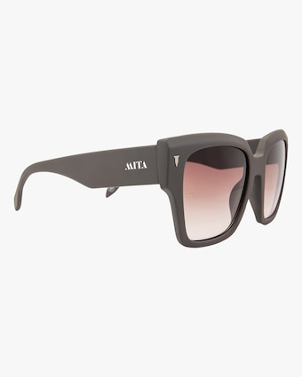 MITA Capri Grey Oversized Sunglasses 2