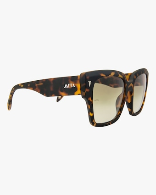 MITA Capri Havana Oversized Sunglasses 2