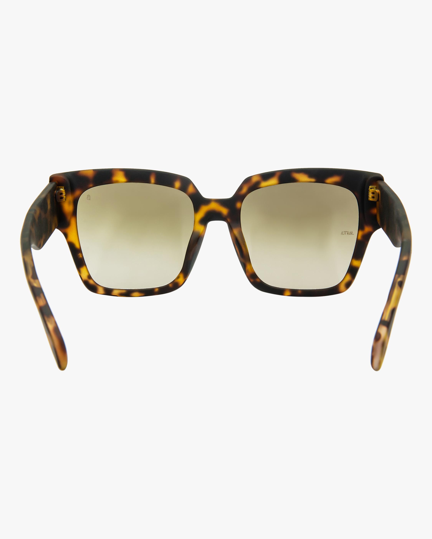 MITA Capri Havana Oversized Sunglasses 3