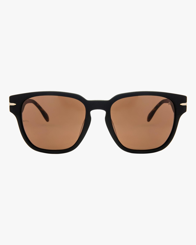 MITA Key West Black Square Sunglasses 0