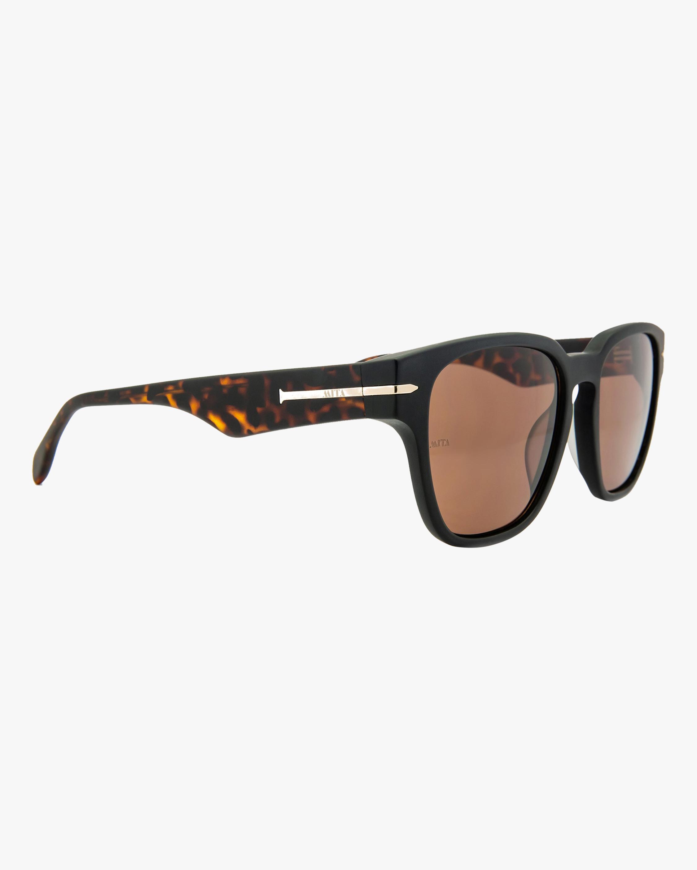 MITA Key West Black Square Sunglasses 2