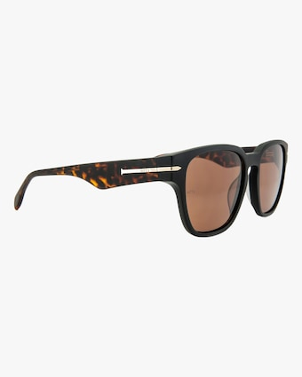 MITA Key West Black Square Sunglasses 2