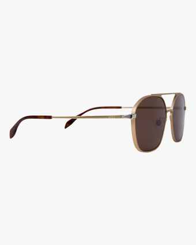 MITA Duomo Gold Squared Aviator Sunglasses 2