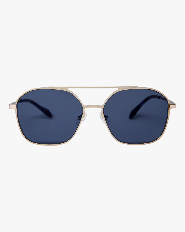 MITA Duomo Silver Squared Aviator Sunglasses 0