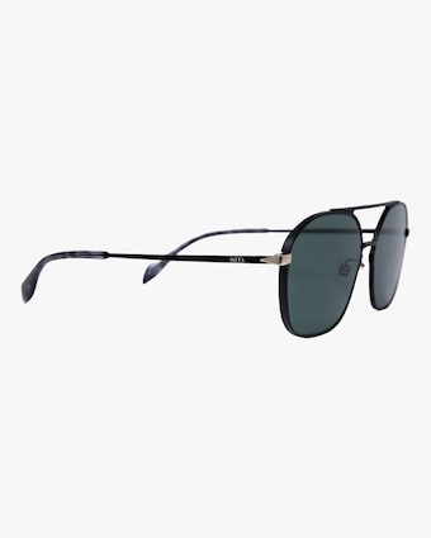 MITA Duomo Black Squared Aviator Sunglasses 2