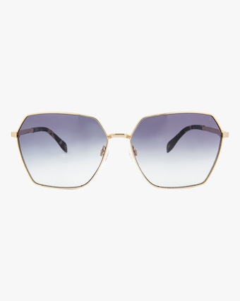MITA Tuscany Gold Square Sunglasses 1