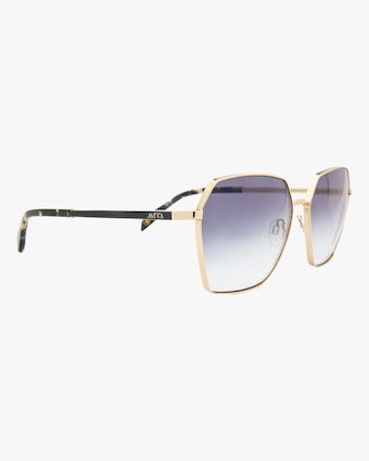 MITA Tuscany Gold Square Sunglasses 2