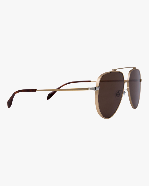 MITA Vizcaya Gold Aviator Sunglasses 2