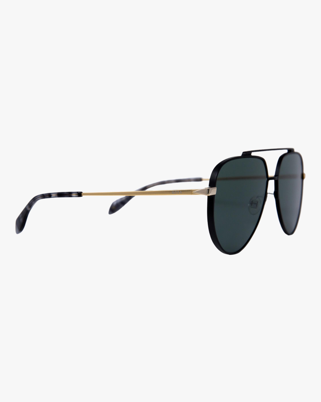 MITA Vizcaya Black Aviator Sunglasses 2