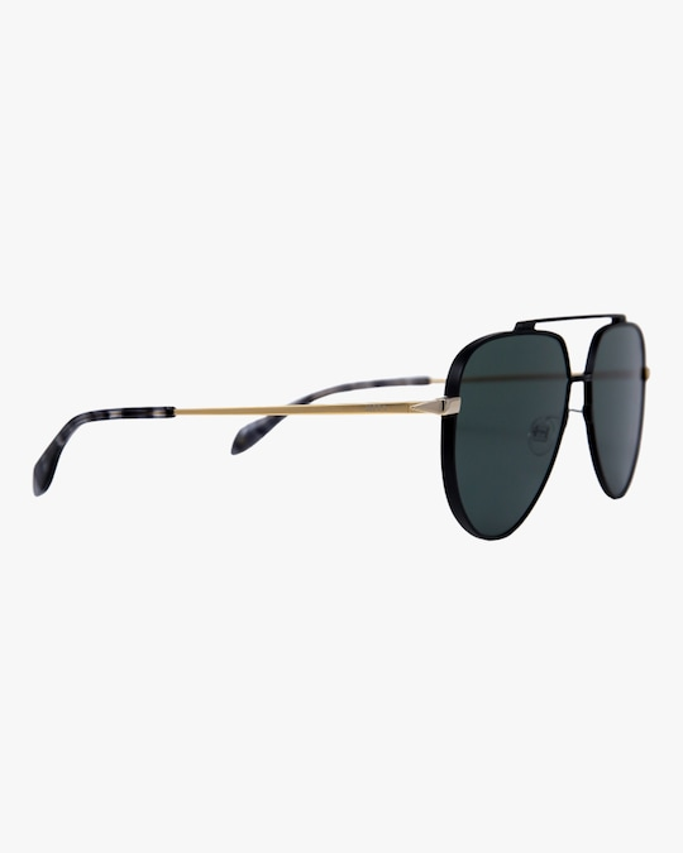 MITA Vizcaya Black Aviator Sunglasses 1