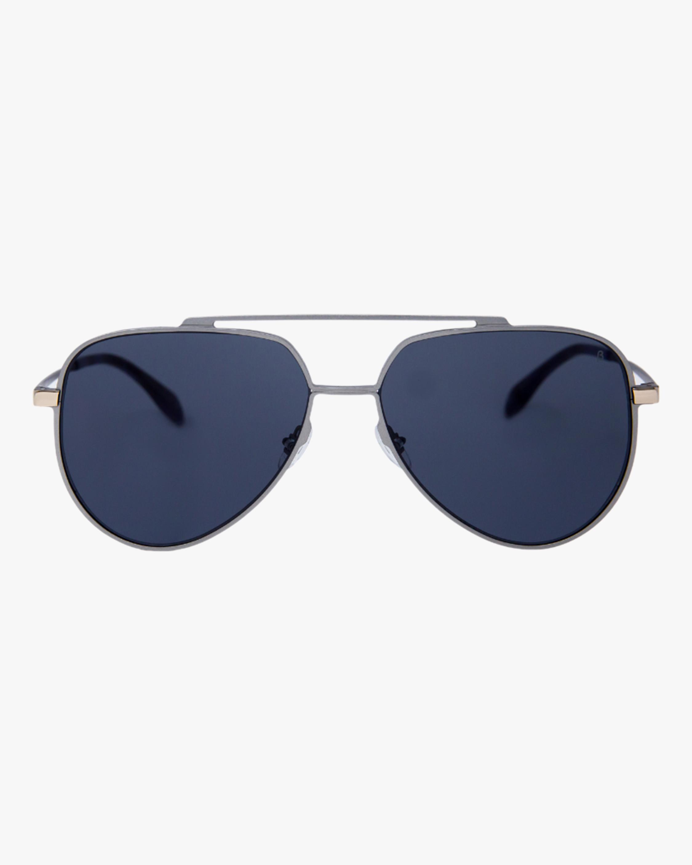 MITA Vizcaya Silver Aviator Sunglasses 0