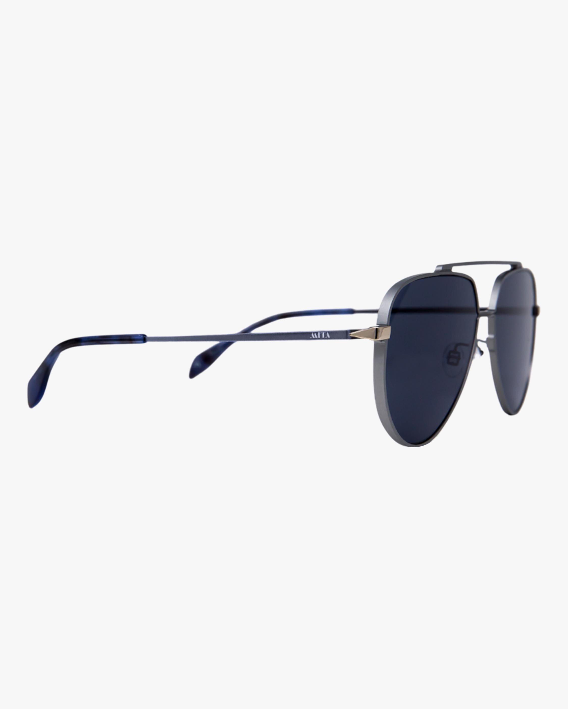 MITA Vizcaya Silver Aviator Sunglasses 1