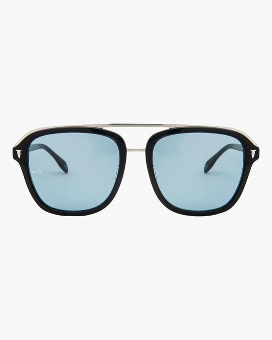 MITA Lincoln Black Square Sunglasses 0