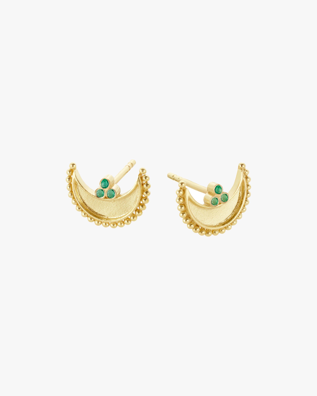 Legend Amrapali Heritage Crescent Stud Earrings 2