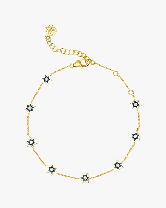Legend Amrapali Mini Six-Sided Star Bracelet 0