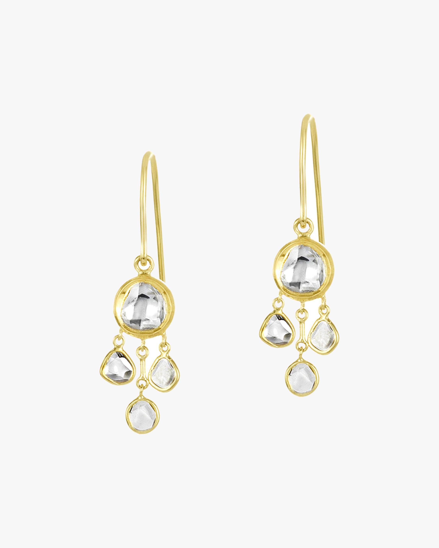 Legend Amrapali Kundan & Polki Diamond Chandelier Earrings 1