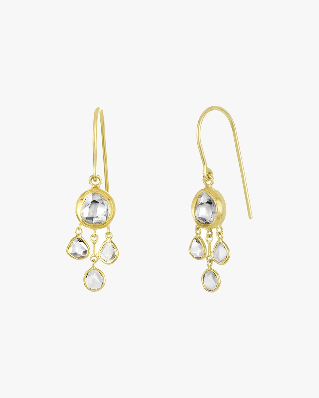Legend Amrapali Kundan & Polki Diamond Chandelier Earrings 2
