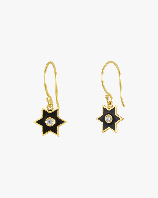 Legend Amrapali Six-Sided Star Earrings 2