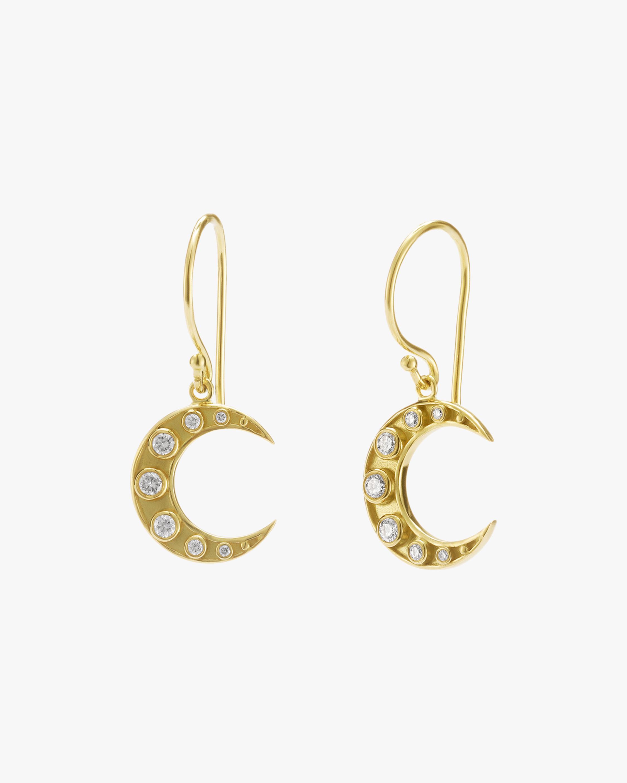 Legend Amrapali Heritage Crescent Moon Earrings 1