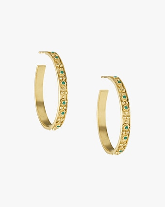 Legend Amrapali Heritage Halo Hoop Earrings 2