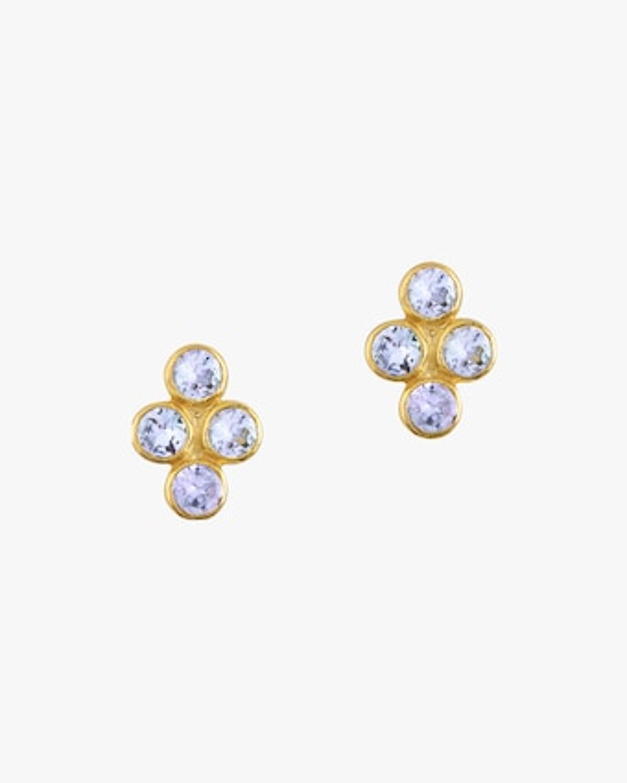 Legend Amrapali Tarakini Four-Stone Stud Earrings 1