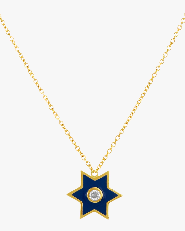 Legend Amrapali Six-Sided Star Pendant Necklace 1