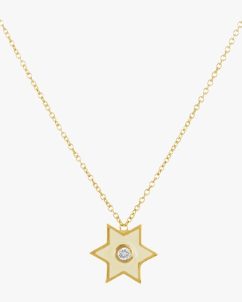 Legend Amrapali Six-Sided Star Pendant Necklace 1