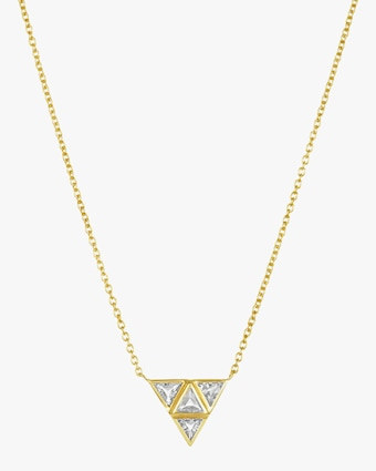 Legend Amrapali Rasayana Triple Triangle Pendant Necklace 2