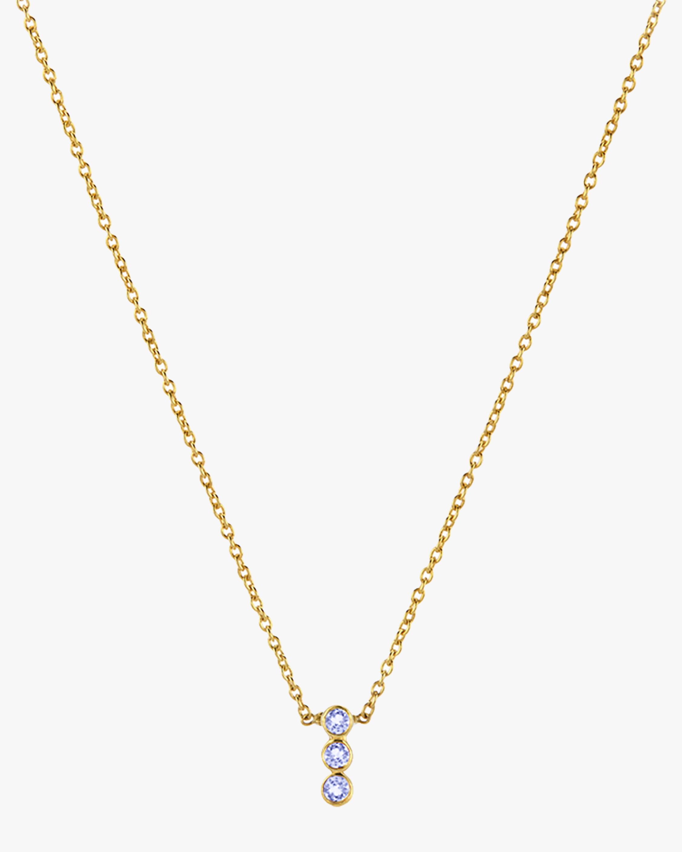Legend Amrapali Tarakini Three-Stone Pendant Necklace 1
