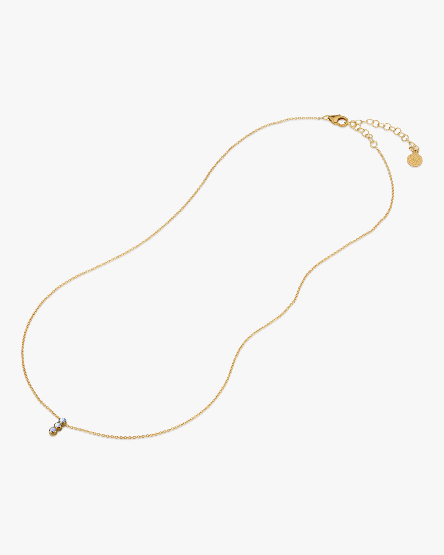 Legend Amrapali Tarakini Three-Stone Pendant Necklace 2