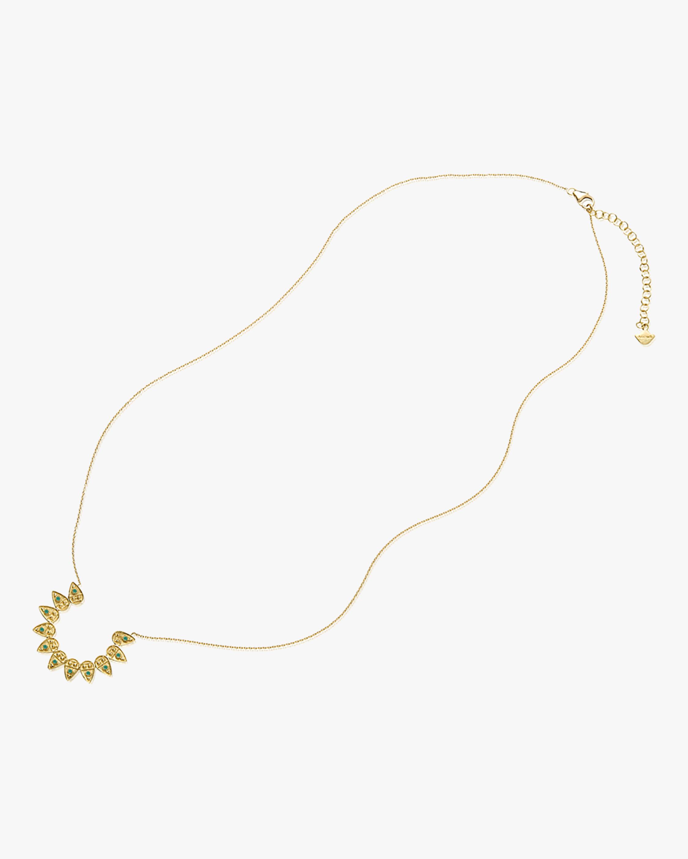 Legend Amrapali Heritage Petal Circle Pendant Necklace 2