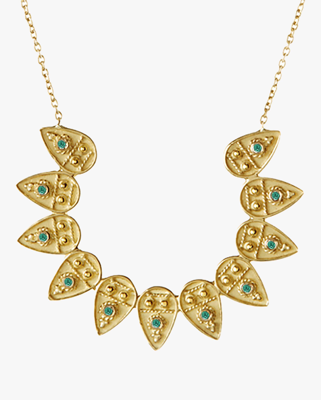 Legend Amrapali Heritage Petal Circle Pendant Necklace 1