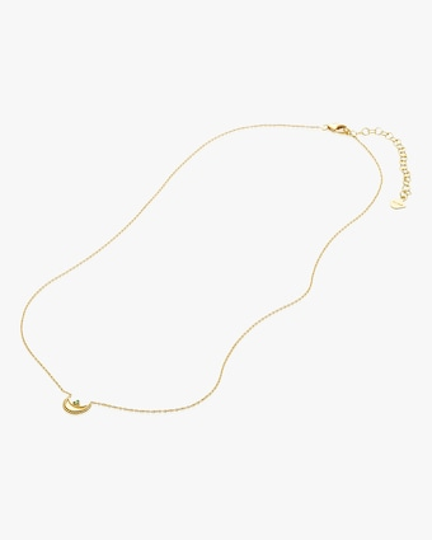 Legend Amrapali Emerald Heritage Crescent Pendant Necklace 2