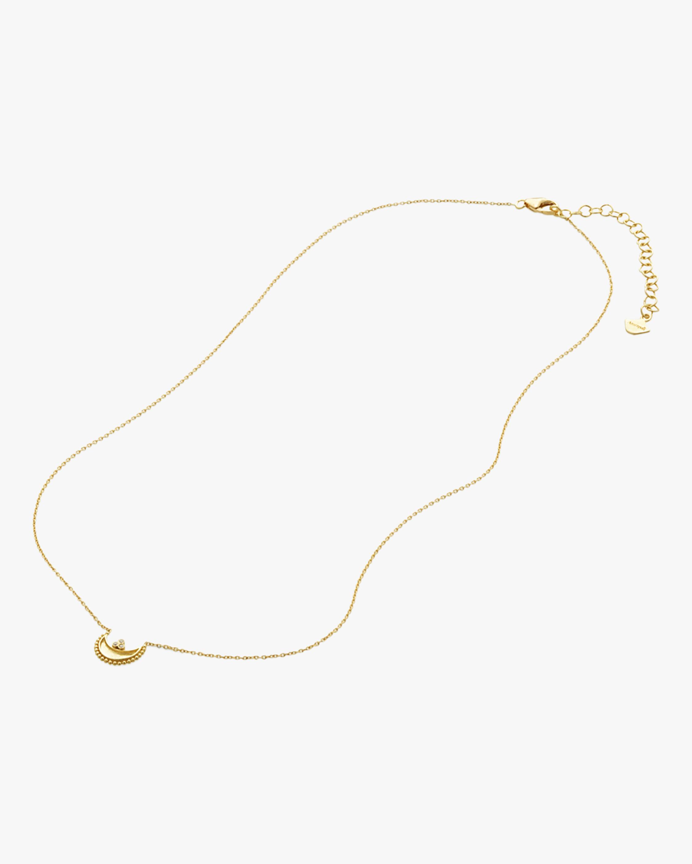 Legend Amrapali Diamond Heritage Crescent Pendant Necklace 2