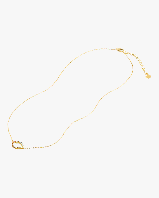 Legend Amrapali Nalika Lotus Silhouette Pendant Necklace 2