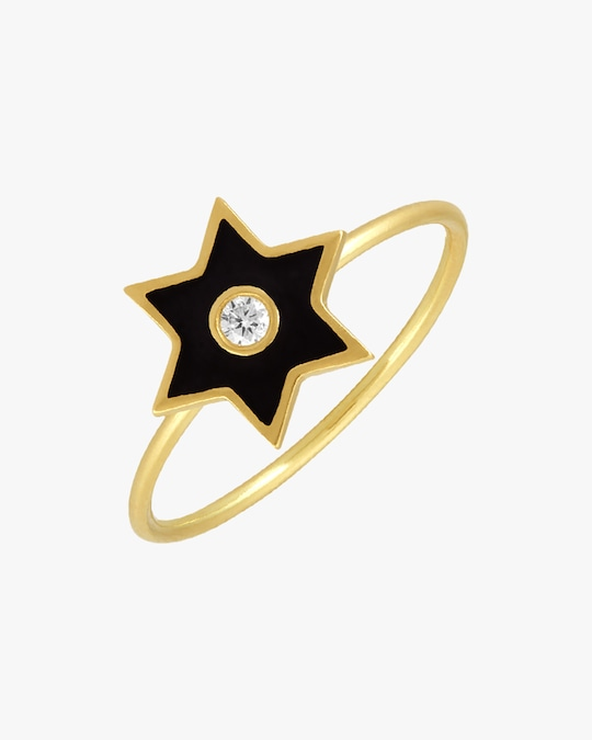 Legend Amrapali Six-Sided Star Ring 1