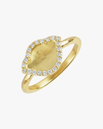 Legend Amrapali Nalika Lotus Stack Ring 2